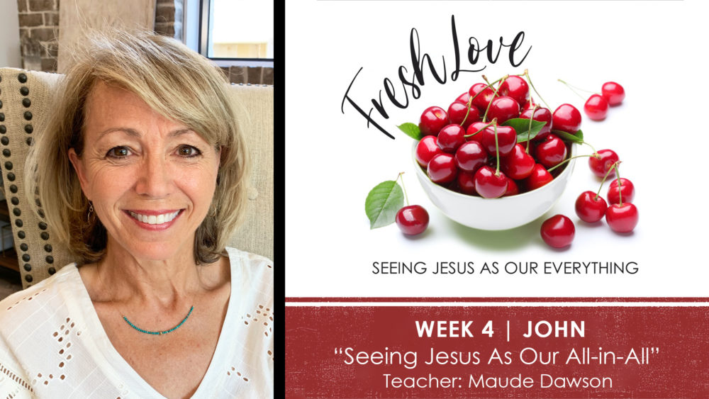 WEEK 4 | Seeing Jesus As Our All-In-All Image
