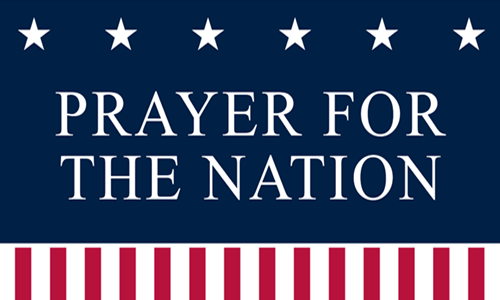 Prayer for the Nation 500X300