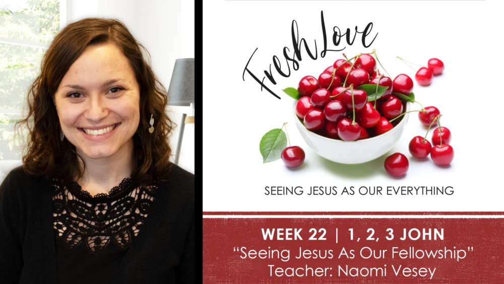 Week 22 | Seeing Jesus As Our Fellowship Image